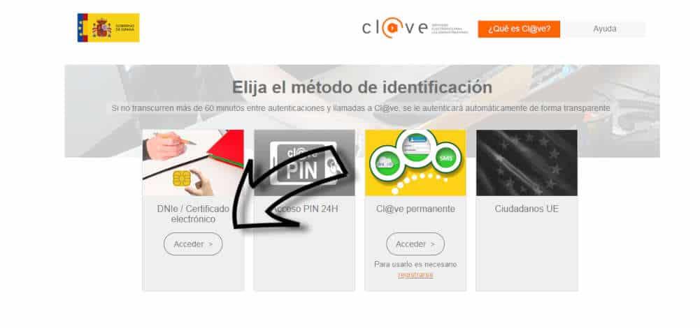 Acceso al portal del SEPE mediante DNIe o Certificado Digital