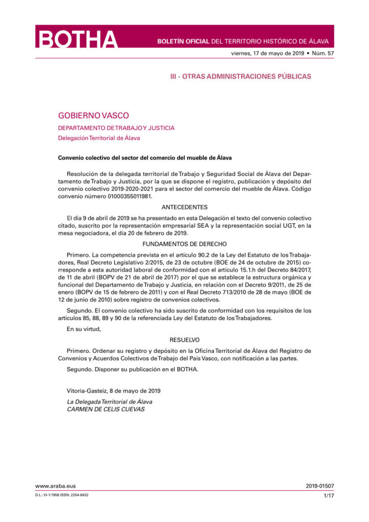 CC COMERCIO MUEBLE ALAVA