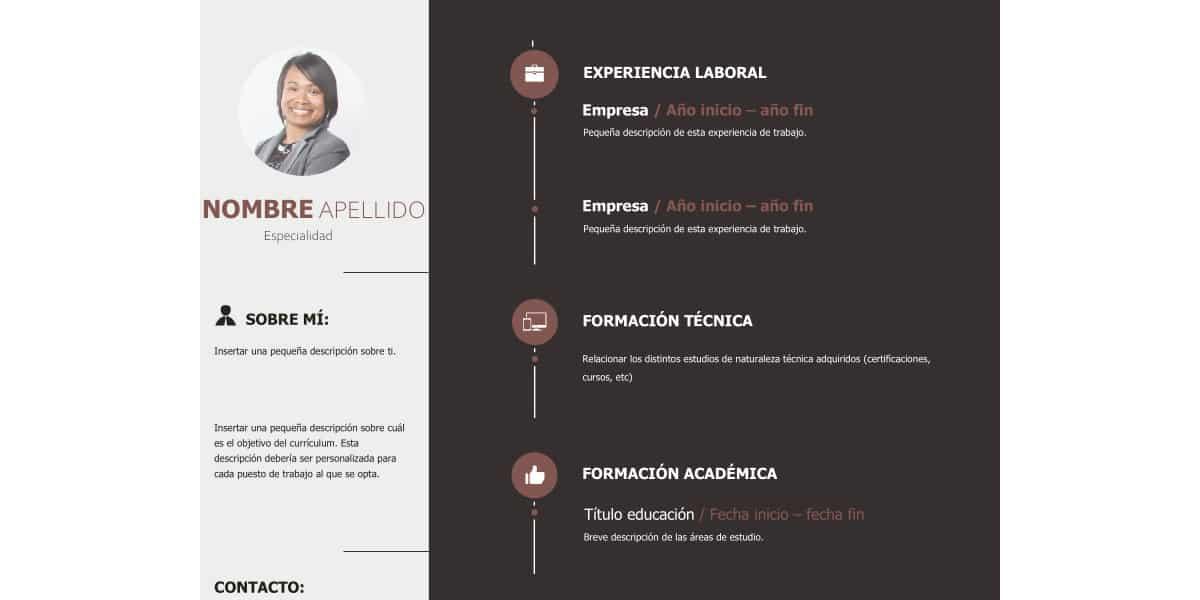CV Técnico Min