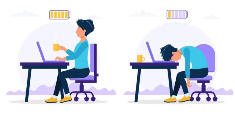 Síndrome de burnout. Averigua si lo puedes estar sufriendo
